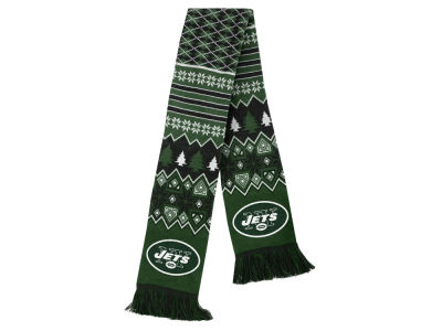 New York Jets Ugly Sweater Acrylic Scarf