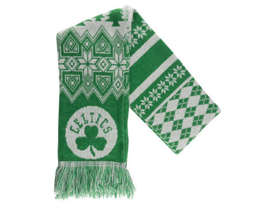 Boston Celtics Ugly Sweater Acrylic Scarf