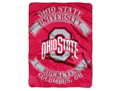 Ohio State Buckeyes 60x80 Raschel Throw
