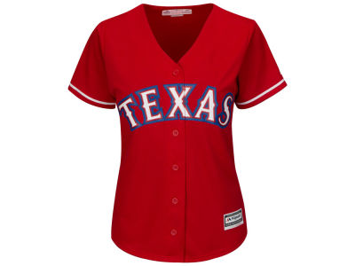 Texas Rangers MLB Women's Cool Base Jersey