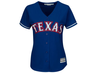 Texas Rangers Majestic MLB Women's Cool Base Jersey