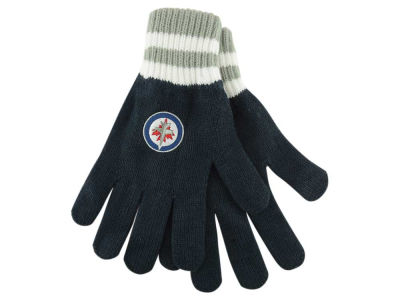 Winnipeg Jets '47 Striped Knit Glove