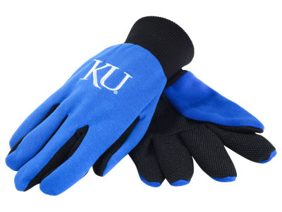 Kansas Jayhawks Forever Collectibles Solid Utility Gloves