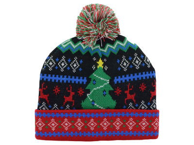 LIDS Private Label PL Ugly Christmas Sweater Pom Knit