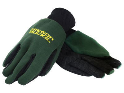 Oregon Ducks Solid Utility Gloves