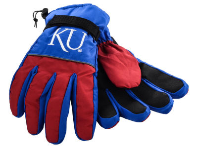 Kansas Jayhawks Insulated Gloves