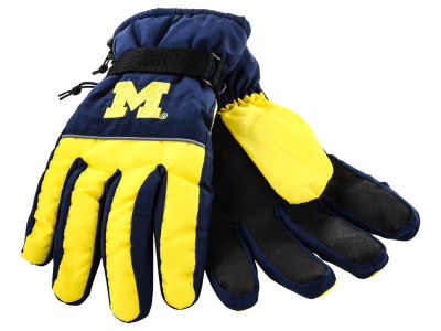 Michigan Wolverines Insulated Gloves
