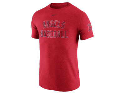 Los Angeles Angels Nike MLB Men's Tri-Blend DNA T-Shirt