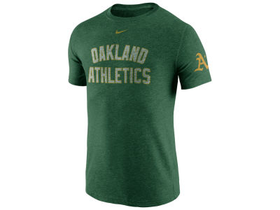 Oakland Athletics Nike MLB Men's Tri-Blend DNA T-Shirt