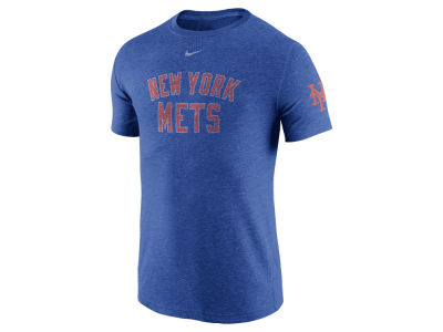 New York Mets Nike MLB Men's Tri-Blend DNA T-Shirt