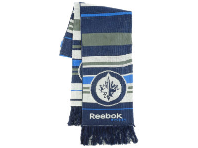 Winnipeg Jets NHL Striped Team Scarf
