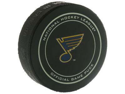 St. Louis Blues Official Game Puck