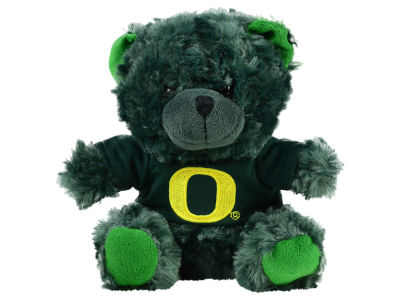Oregon Ducks 7.5inch Premium Plush Jersey Bear