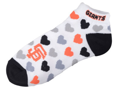 San Francisco Giants Lady Heart Logo Repeat Sock