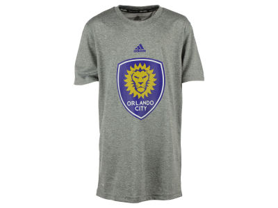 Orlando City SC adidas MLS Youth Primary Logo Climalite T-Shirt