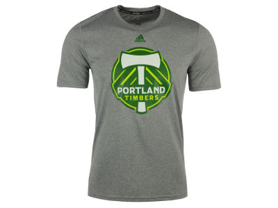 Portland Timbers adidas MLS Youth Primary Logo Climalite T-Shirt