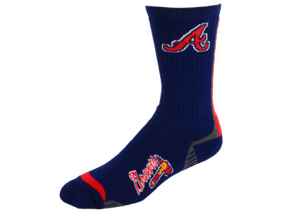 Atlanta Braves Team Vortex Crew Sock