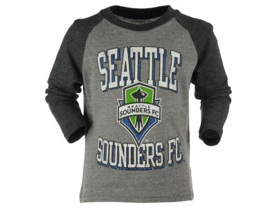 Seattle Sounders FC adidas MLS Kids Run the Field Long Sleeve T-Shirt