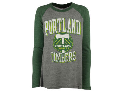 Portland Timbers adidas MLS Youth Run the Field Long Sleeve T-Shirt