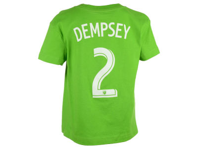 Seattle Sounders FC Clint Dempsey adidas MLS Kids Name and Number T-Shirt