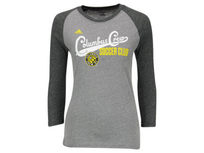 Columbus Crew SC adidas MLS Girls Kick Sweep Raglan T-Shirt