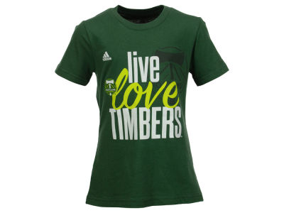 Portland Timbers adidas MLS Girls Live Love Team T-Shirt