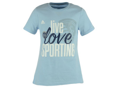Sporting Kansas City adidas MLS Girls Live Love Team T-Shirt