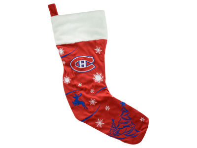 Montreal Canadiens Team Stocking