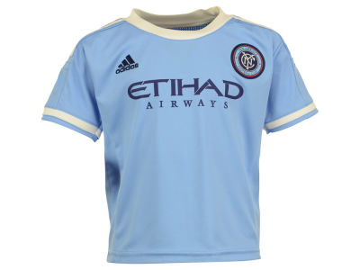 New York City FC MLS Toddler Replica Primary Jersey