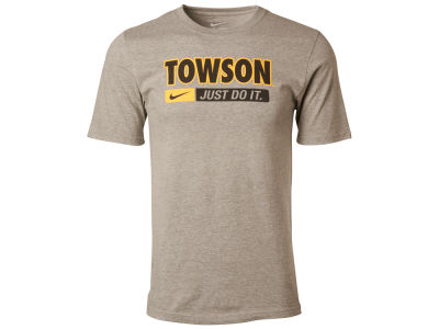 Towson University Tigers NCAA Men's Just Do It Cotton T-Shirt