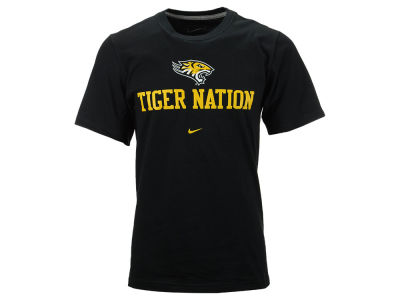Towson University Tigers NCAA Men's Mascot Over Name T-Shirt