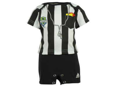 Seattle Sounders FC adidas MLS Newborn Lil Ref Romper