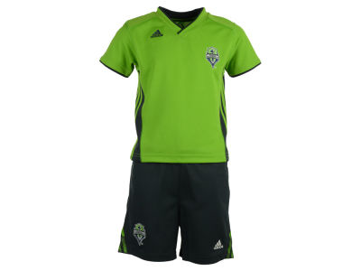 Seattle Sounders FC adidas MLS Toddler Tip-Off Short Outfit