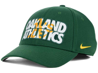 Oakland Athletics Nike MLB Verbiage Logo Cap