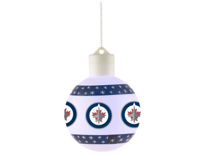 Winnipeg Jets Light Up Ball Ornament JC