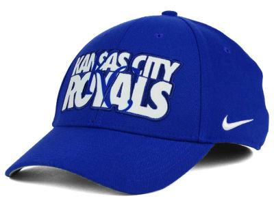 Kansas City Royals Nike MLB Verbiage Logo Cap