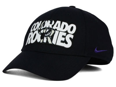 Colorado Rockies Nike MLB Verbiage Logo Cap