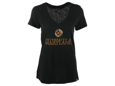 Maryland Terrapins '47 NCAA Women's Flag Scrum T-Shirt
