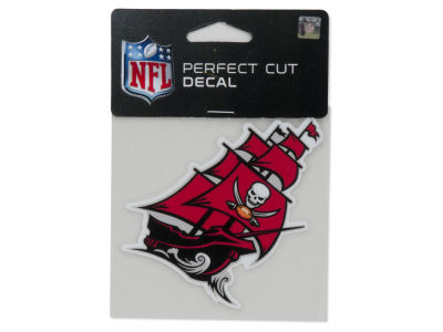 Tampa Bay Buccaneers 4x4 Die Cut Decal Color