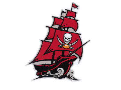 Tampa Bay Buccaneers Die Cut Color Decal 8in X 8in