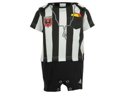 DC United adidas MLS Infant Lil Ref Romper