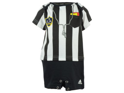 LA Galaxy adidas MLS Infant Lil Ref Romper