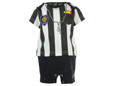 Orlando City SC adidas MLS Infant Lil Ref Romper