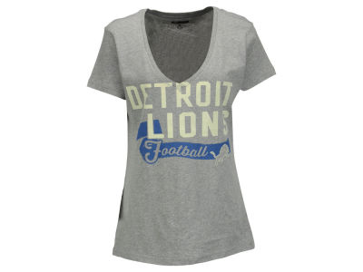 Detroit Lions GIII NFL Women's Scout Team V-Neck T-Shirt