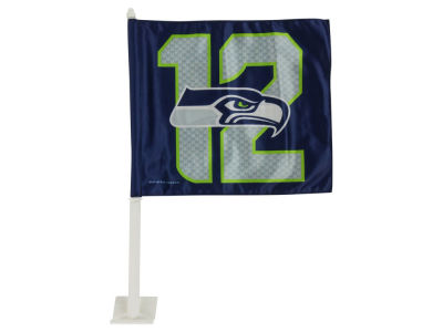 Seattle Seahawks #12  Car Flag
