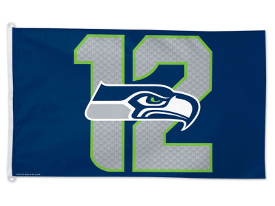 Seattle Seahawks #12  3x5ft Flag