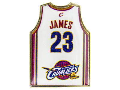 Cleveland Cavaliers LeBron James Aminco Jersey Pin