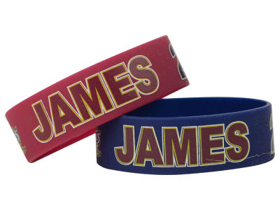 Cleveland Cavaliers LeBron James 2-pack Wide Bracelet