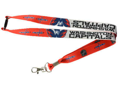 Washington Capitals Lanyard w/Breakaway