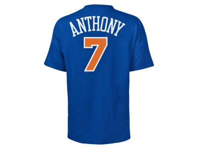New York Knicks Carmelo Anthony NBA Men's Player T-Shirt
